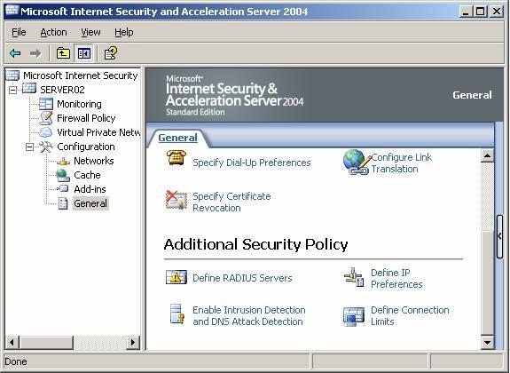 Using ISA Server 2004 RADIUS Authentication in Web Publishing Rules