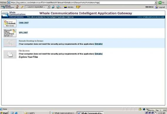 Customizing IAG 2007 Portal Pages