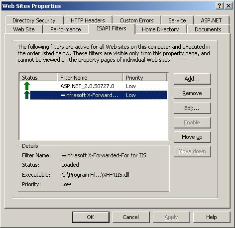 Winfrasoft X Forwarded For For Iis