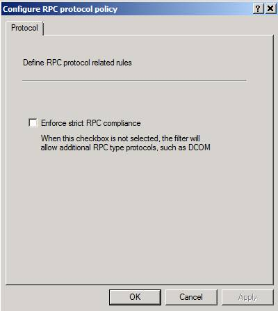 Figure 6: Disable strict RPC compliance