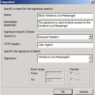 Figure 10: Windows Live Messenger Block