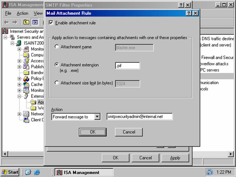 Microsoft Internet Security and Acceleration Server 2000