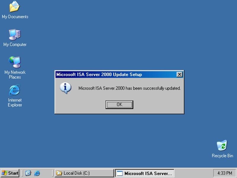 Protecting Departmental/Student LAN segments with ISA Server