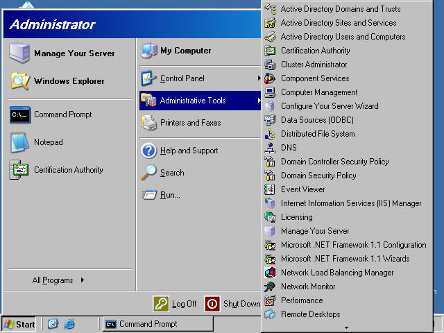 Installing And Configuring A Windows Server 2003 Stand Alone